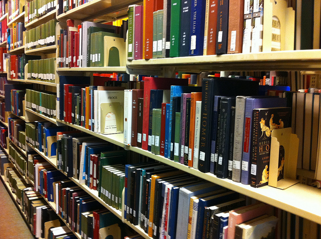 Library_book_stacks_on_sixth_floor_of_Milner_Library
